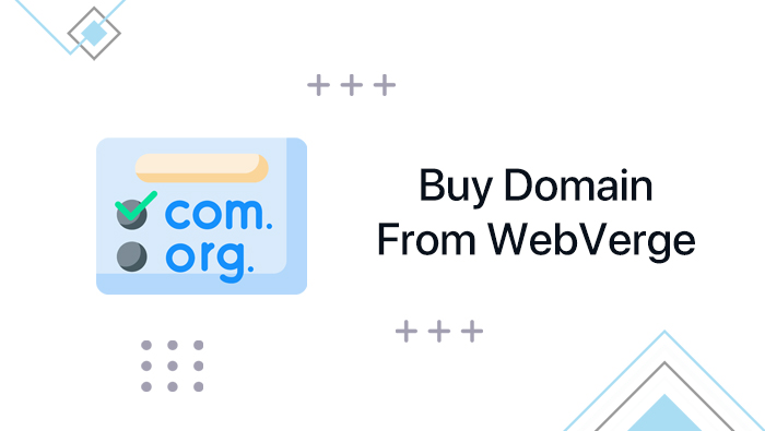 Buy Domain From WebVerge